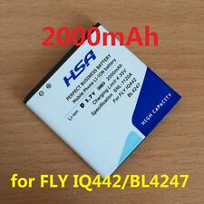2000mAh BL4247 battery for fly iq442 Quad Miracle 1 BL 4247 mobile phone