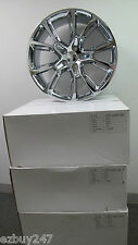 "22"" NEW JEEP GRAND CHEROKEE SRT8 STYLE FOUR CHROME WHEELS RIMS 9113"