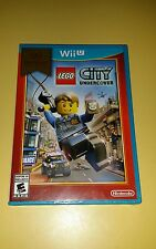 Lego City Undercover for Nintendo Wii U Brand New! Factory Sealed!