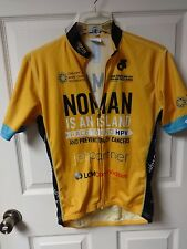Vintage Champ-sys.com NOMAN Is An Island Race Cycling Jersey Adult Men Large