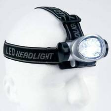 8-Bulb LED Head Lamp  Great for Camping, Joging, Bicycling - Emergency Lighting