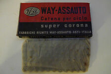Vintage NOS Way Assauto Italian Single Speed chain 1/2x1/8 for your Fixie
