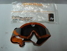 masque lunette de ski enfant orange