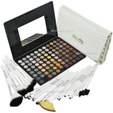 88 Color Neutral Warm Eyeshadow Palette W/ 20 x Brushes White Swan Set #588F#813
