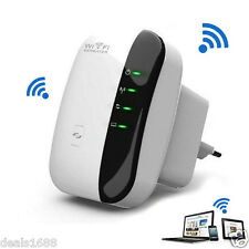 300Mbps Wifi Repeater Wireless-N AP Range Signal Extender Booster EU 802.11b/g/n