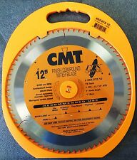 "CMT 253.072.12 ITK Industrial Finish Sliding Compound Miter Saw Blade, 12"" x 72T"