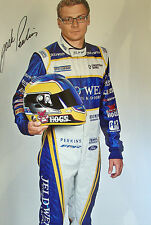 Jack Perkins SIGNED 12x8  Jeld Wen Racing Ford Falcon Team Portrait 2014