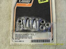 Colony Front Disc Brake Rotor to Hub Screw and Nut Kit