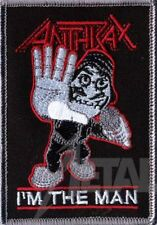 Anthrax I'm the Man Patch/Aufnäher 601975 #