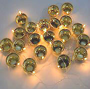 New Festival Light 20 Golden Diya,lamp series for Diwali Temple Decoration LED