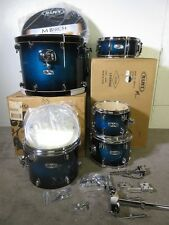 Mapex M Series 5 Pc Kit Black Forest Sapphire Lacquer Birch w/Hanging Floor Tom
