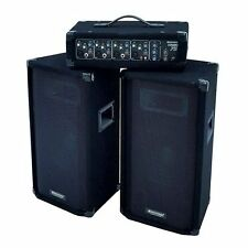 NEW  OMNITRONIC 057376 Active PA System DJ MIXER SPEAKERS AMPLIFIER RRP £399.99