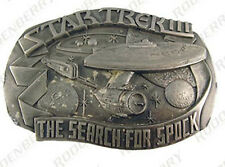 Star Trek III Search for Spock Commemorative Metal Belt Buckle- FREE S&H