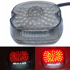 Motorcycle Smoke Lens LED Tail Brake Light For Harley Touring Road Glide Electra