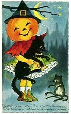 950 Vintage imágenes de Halloween Art & Craft Card Making Cd