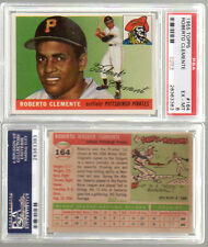 1955 Topps #164 Roberto Clemente Rookie PSA 6