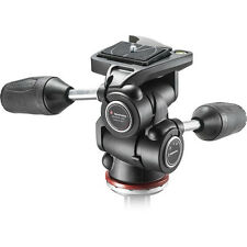 Manfrotto MH804-3W 3-Way Pan/Tilt Head with RC2, No Fees! EU seller! NEW!
