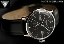 NEW Junkers Bauhaus 6060-2 Automatic Retrograde Power Reserve 24hr Subdial Watch