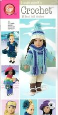 I TAUGHT MYSELF TO CROCHET DOLL CLOTHES! 5 PATTERNs FIT AMERICAN GIRL JULIE!