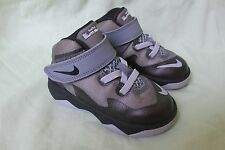 TODDLER NIKE LEBRON ZOOM SOLDIER VIII BLACK & GRAY 653647-008 Sz 6C 6 CHILD