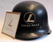 WW2 German Focke-Wulf Factory Helmet Stencil Template  M34 M35 M40 M42 WWII Fire