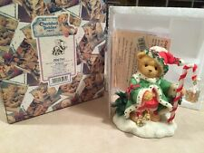 Cherished Teddies Wolfgang The Spirit Of Christmas Is In Us All Box Certificate