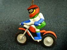 Ornament Central Dirt Bike Racer Christmas Ornament NEW with tag (o2244)