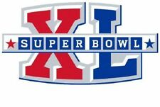 Pittsburgh Steelers Super Bowl XL Logo Decal
