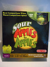 Sour Apples to Apples Party Game 2010 ~ COMPLETE!