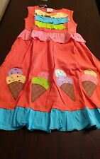 NWT Lemon Loves Lime spring summer ice cream parlor dress size 10
