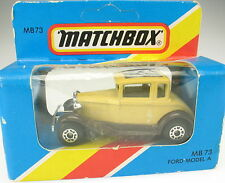 MATCHBOX No 73 - Ford Model A - NEU in Blister-OVP - new in BOX