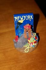 Yorkshire Terrier Ornament - New York YORKIE - Icing by Clair's 2002