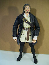 "DISNEY PIRATES OF THE CARIBBEAN WILL TURNER 12"" ACTION FIGURE DEAD MAN'S CHEST"