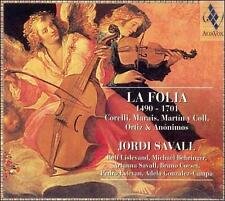 La Folia, 1490-1701 (CD, Mar-1999, Alia Vox) Jordi Savall Digipak