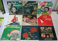 Lot of 12 45 Records Honky Tonk Rumbas Les Paul Parker W/Hard Picture Sleeve