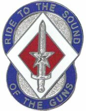 0208 Support Group Unit Crest (Ride To The Sounds Of The Guns)