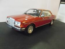 MERCEDES W123 Coupe 280 C123 E klasse red rot 1977 - 1982 Resin otto RARE 1:18