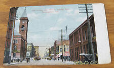 1909 COLOR Postcard /// 2nd AVENUE AND 18th STREET, LOOKING EAST, BIRMINGHAM, AL