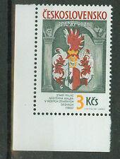 Tschechoslowakei Briefmarken 1987 Prager Burg  Mi.Nr.2910 ** postfrisch Ecke