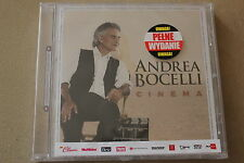Andrea Bocelli - Cinema PL CD POLISH RELEASE