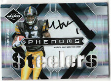 2009 Limited MIKE WALLACE Phenoms RC Jersey AUTOGRAPH Patch /149 Steelers #206