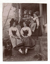 PHOTO Alsacienne Alsace ? Femme Costume traditionnel Folklore Coiffe Vers 1920