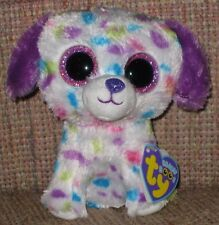 TY BEANIE BOOS BOO'S - DARLING the POLKA DOT DOG - MINT with MINT TAGS