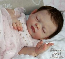 Beautiful Reborn Baby Girl Doll - from Lucy by Tina Kewy