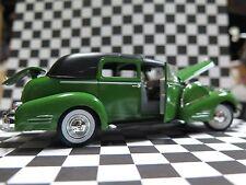diecast 1938 CADILLAC SERIES 90 V16 FLEETWOOD GREEN 1:32 model
