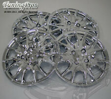 "4pcs Chrome Wheel Cover Rim Skin Covers 15"" Inch, Style 533 15 Inches Hubcap"