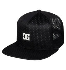 DC Shoes Men's Perfecto Snapback Hat Anthracite Black Caps Headwear Skate Street