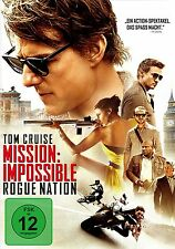 Mission: Impossible 5 - Rogue Nation (Tom Cruise) # DVD-NEU