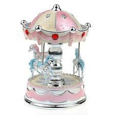 Merry-Go-Round Music Box Christmas Birthday Gift Carousel Music Box PK Excellent