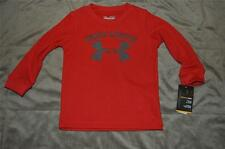 Under Armour Infant Baby Long Sleeve Thermal Tee 2797415-60 12 Months Red NWT